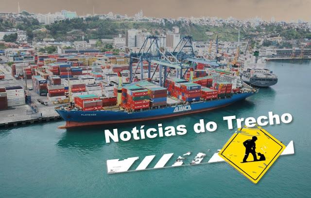 Resultado de imagem para Terminal de Contêineres do Porto de Salvador (Tecon)