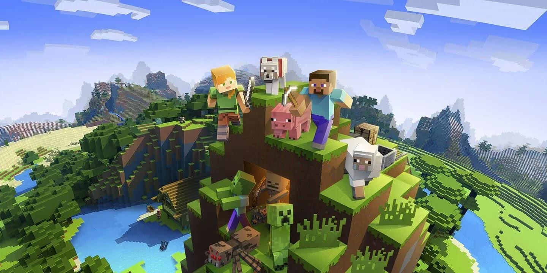 Minecraft APK + MOD (مفتوح)  تحميل مجانى ماين كرافت مهكره