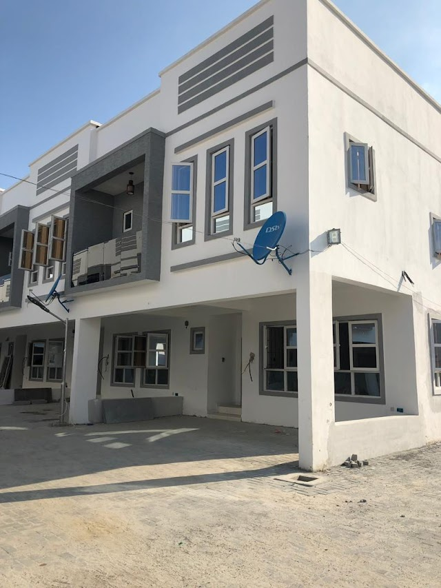 Newly Built 4 Bedroom Terrace House for sale at Lekki