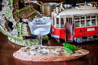 Martini cocktail twist