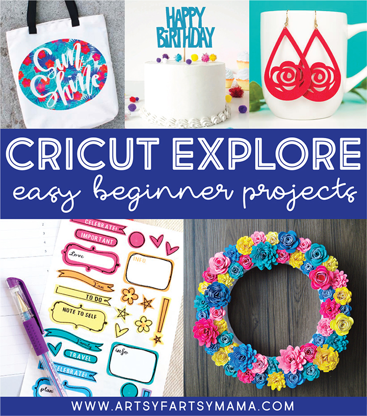 Easy Cricut Explore Projects for Beginners