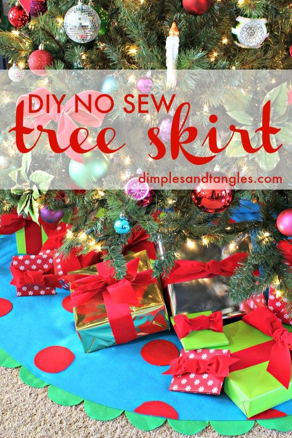 No Sew Christmas Tree