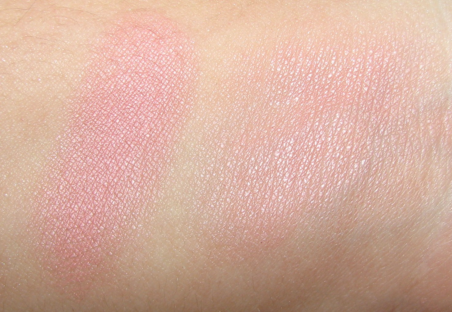 Tarte stunner vs tarte stunner dupe comparison - Stunner Is Described On The Mac Website As A Light Coral Pink You Don T Really See Much Of The Coral Hue On The Heavy Swatch But You Can Notice It More