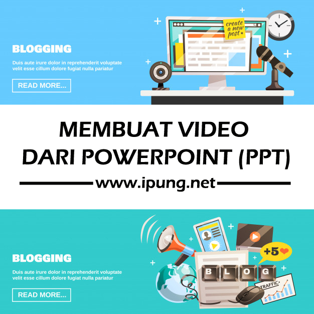 Cara Merubah Power Point (PPT) Menjadi Video dengan Mudah dan Simpel
