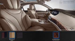 Nội thất Mercedes S400 L 2015 màu Vàng Silk 205