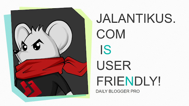 Jalantikus is user-friendly