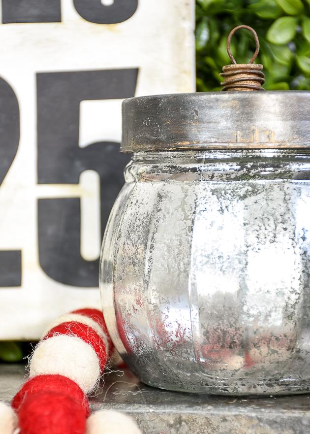 DIY Mercury glass, vintage ornaments, dollar tree DIY, Dollar Tree, christmas, ornaments