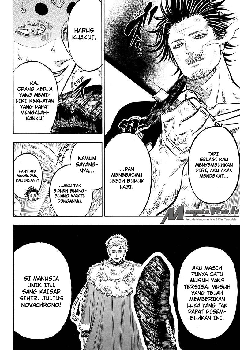 Black Clover Chapter 50 Cahaya Penghakiman