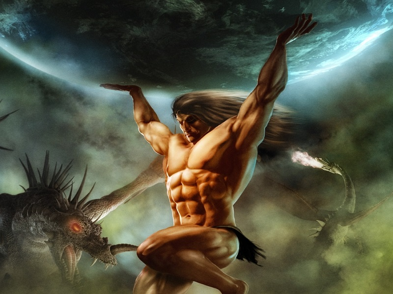 Atlas: Deus Titã Grego Que Segura os Céus