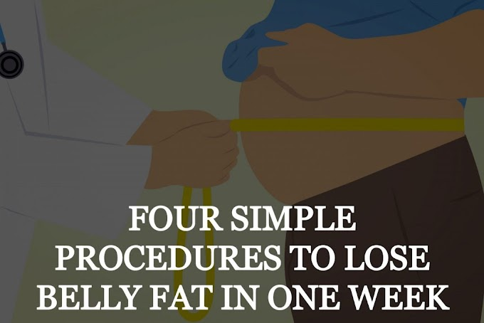 Lose Belly Fat - 4 Simple And Best Steps To Burn Belly Fat