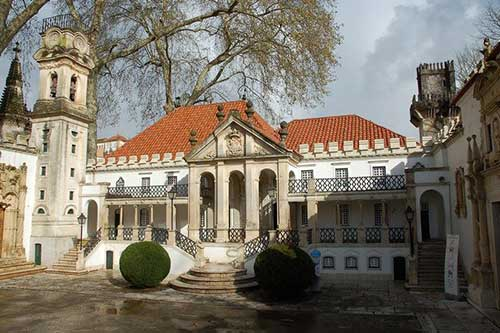 Scale model of Coimbra University, Portugal dos Pequenitos.