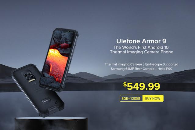 سعر هاتف Ulefone Armor 9 ذو الكاميرا الحرارية FLIR