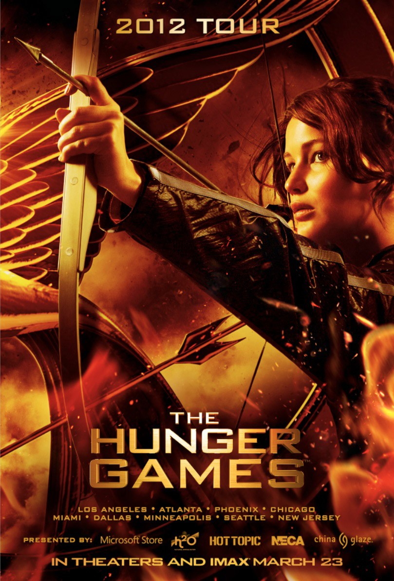 A Nudge in the Right Direction: Movie Review: The Hunger ...