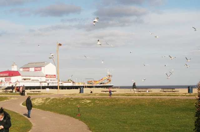 View of Great Yarmouth beach