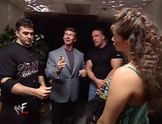 WWE / WWF King of the Ring 2000 -  Vince McMahon promises his family that he will keep his cool