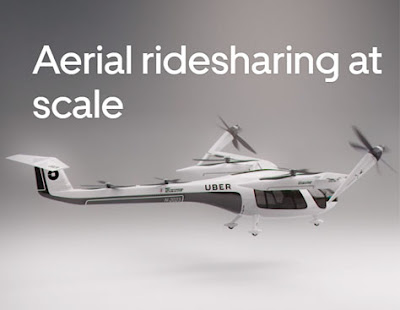 2023 Uber Air Siap Meluncurkan Taksi Udara Listrik