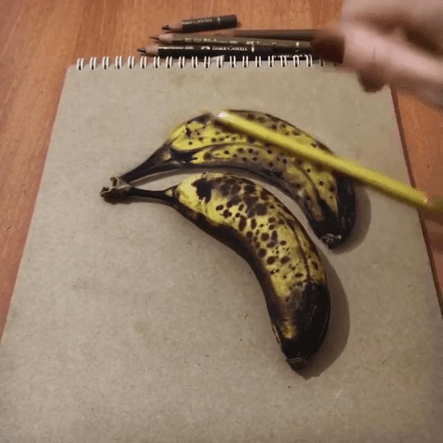 18-Bananas-Reveal-Elif-Nihan-Sahin-3D-Drawing-www-designstack-co