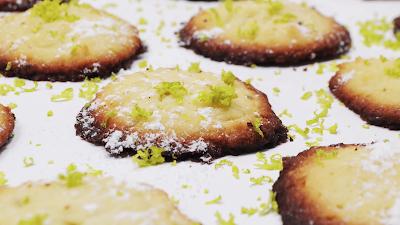 galletas de lima y coco