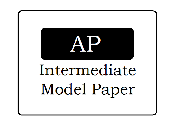 AP Intermediate (1st 2nd year) Previous Question Papers