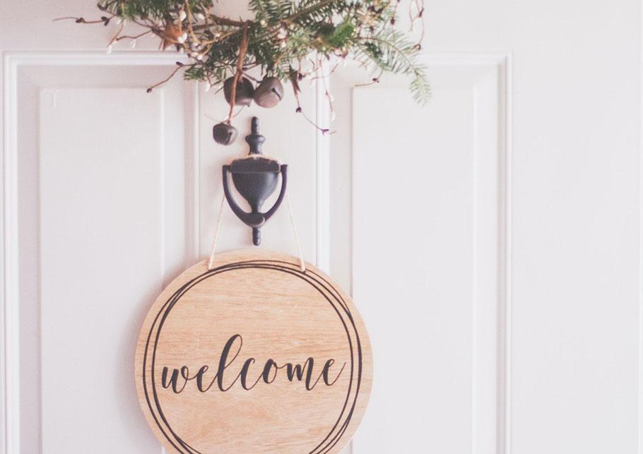 Door welcome