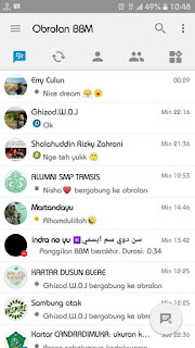 Free Download BBM IOS Iphone Light v12 Versi Terbaru Base v3.1.0.13 APK