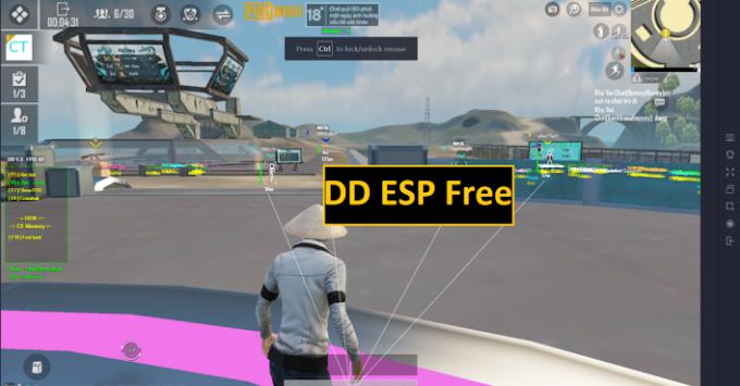 DD ESP Free PUBG MOBILE 1.3.0 Season 18 [Gameloop 4.4]