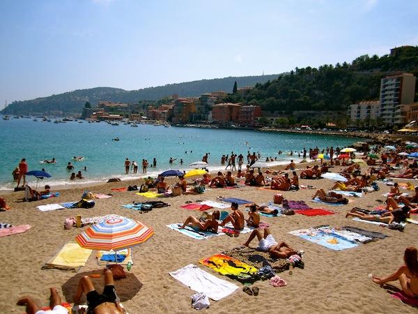 Passeio pelas praias de Nice