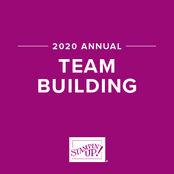 2020 STAMPIN UP! TEAM AWARD