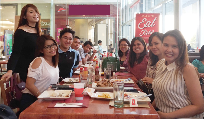 #TeamDDI at Max's Restaurant Chicken-All-You-Can Launch 2017