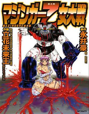"Ooso Cómics licencia ""Mazinger Z Otome Taisen""."