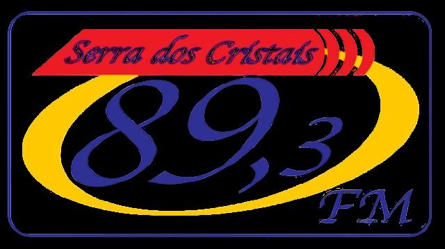 Novo logotipo da Rádio Serra dos Cristais FM