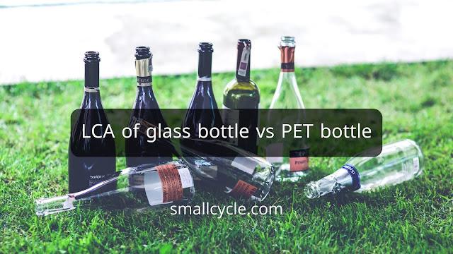 LCA of glass bottle