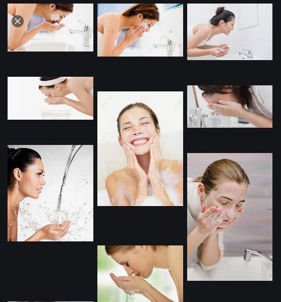 Limpieza facial en cinco pasos
