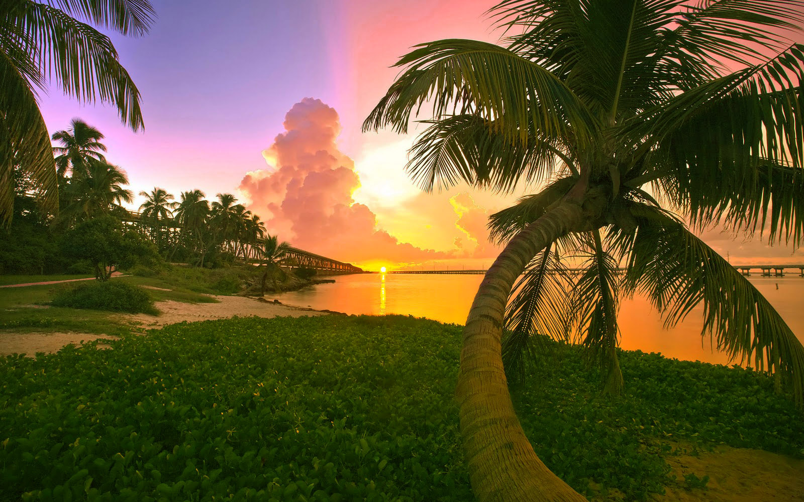 Top 40 beautiful and amazing sunset wallpapers in hd - Wallpaper florida keys ...