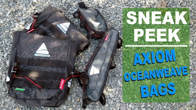 Fatbike Republic Axiom Cycling Bags Pod Pack Monsoon Framepack Oceanweave