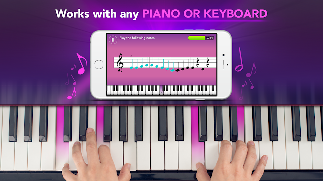 حمل تطبيق Simply Piano par JoyTunes مجانا