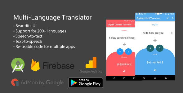 Multi-language speech & text translator | Codelist | Download Free