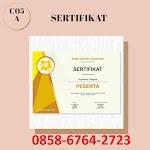 085867642723 Cetak Sertifikat di Magelang-Yogyakarta.