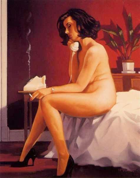 O Arranjo - Jack Vettriano e suas pinturas cheias de encontros íntimos