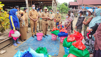 Selain Serahkan Bantuan, Bupati Wajo Sudah Perintahkan Segera Normalisasi Sungai Lajokka