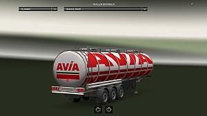 Avia cistern skin standalone trailer