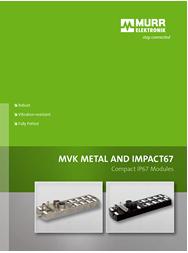 Murr MVK Metal and Impact67 Catalog