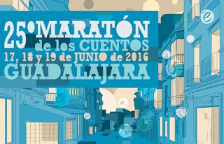Cartel 25 Maratón Cuentos Guadalajara