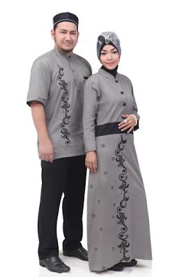 Model Baju Muslim Couple Untuk Santai Terbaru