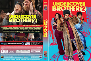 CARATULA 2 UNDERCOVER BROTHER 2 2019[COVER DVD]