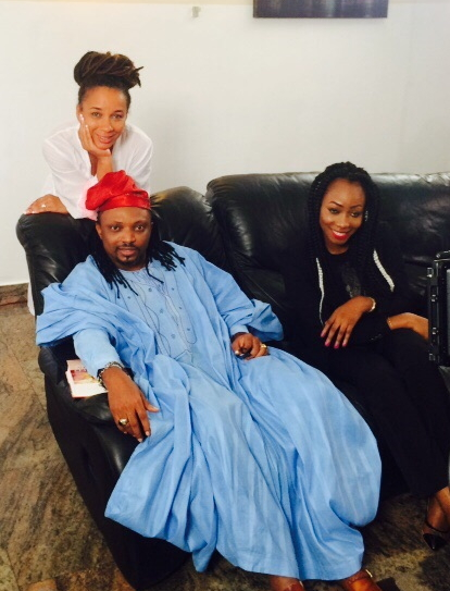 nollywood visiting ibinabo fiberesima kirikiri