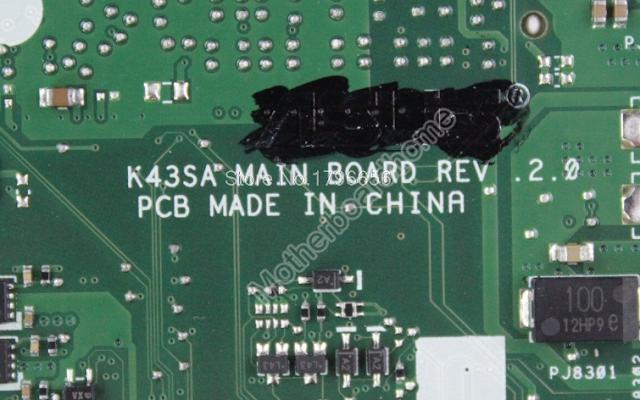 Asus K43SA rev 2.0  A43S Laptop Bios