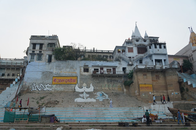 Ghat di sepanjang sungai Gangga