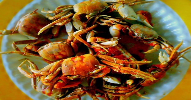 Fried Crablets (Shore Crabs And River Crabs)