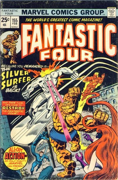 Fantastic Four #155, the Silver Surfer